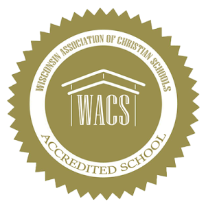 Bay City Christian School of Green Bay, WI, is accredited with the WACS
